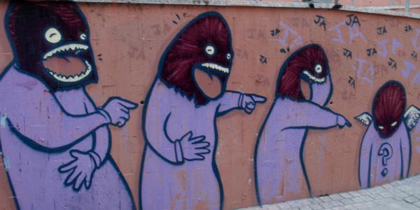 graffiti bromas ofensivas